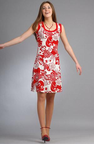 Dámské květované šaty s raminky