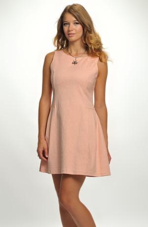 Dívčí společenské šaty vhodné na svatbu a jiné společenské akce, vel. 40,