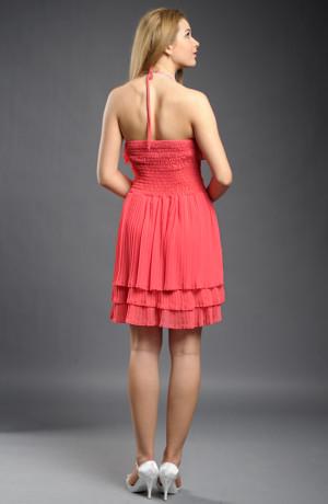 Dívčí společenské šaty vhodné do tanečních i na svatbu ve velikosti L / 40