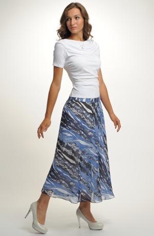 Vzdušná sukně na léto