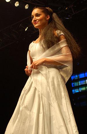 Módní přehlídka nové kolekce svatebních šatů Verino.