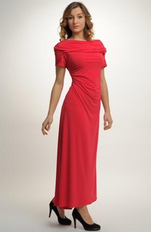 Plesové červené šaty vel. 44