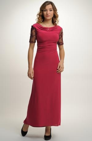 Elegantní plesové šaty