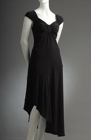 Společenské černé šaty