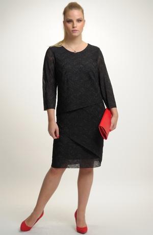 Společenské šaty černé