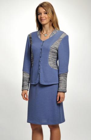 Pletená sukně krátká