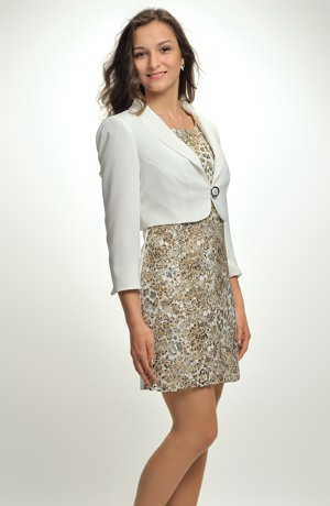 Krajkové mini šaty