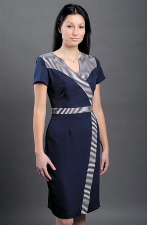 Společenské pouzdrové šaty - pouzdrovky, vel. 42