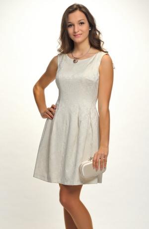 Elastické svatební šaty krátké