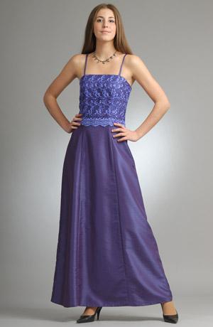 Taftové šaty s luxusní ktajkou ve velmi moderní královské modré barvě.
