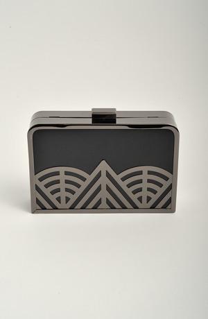 Dámská módní kabelka - kufříková