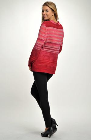 Zimní svetr s angorovou vlnou