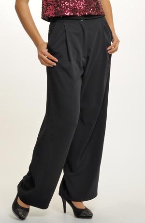 Volné společenské kalhoty