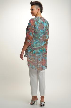 Letní tunika z jemné tkaniny
