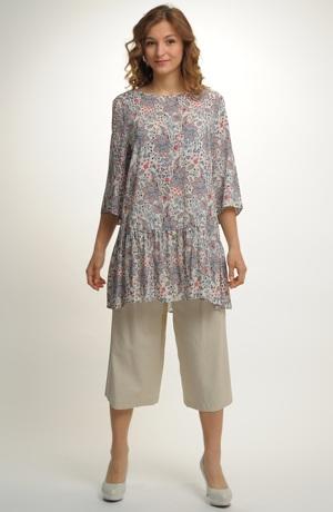 Krátké letní tunikové šaty