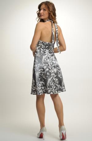 Krátké dívčí společenské šaty pro družičky, Vel. 38, 40