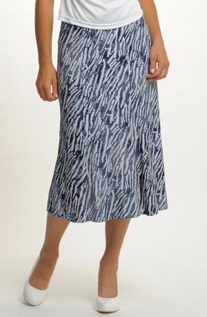 Dámská sukně pro plnoštíhlé