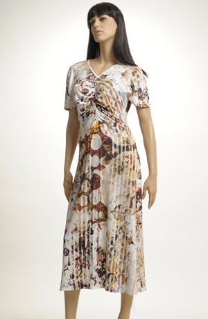 Letní šaty z viskózy
