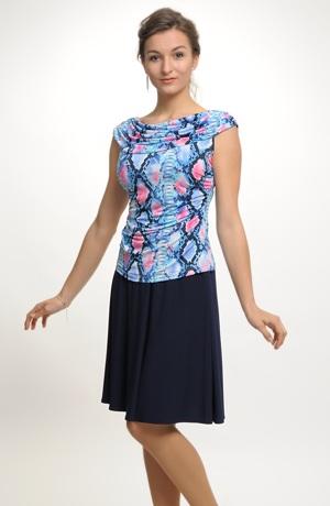 Letní sukně v uni barvě