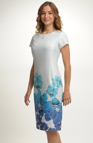 Elegantní dámské koktejlpvé šaty