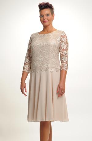 Společenské šaty na svatbu i do divadla