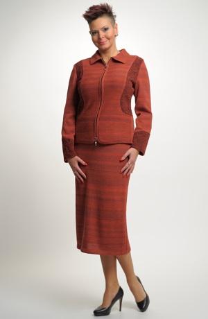 Sukně pletená dlouhá