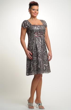 Dámské plesové společenské šifonové šaty vel. 44