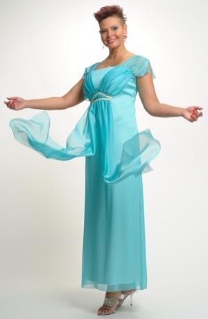 Dlouhé šaty v antického duchu