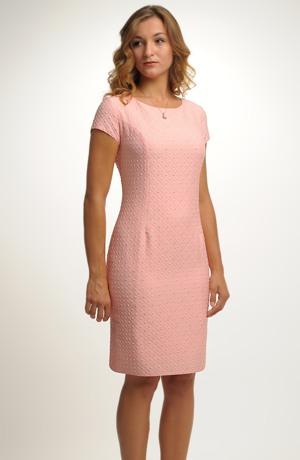 Nadčasové elegantní dámské koktejlové šaty ve velikostech 40,42/ L, XL