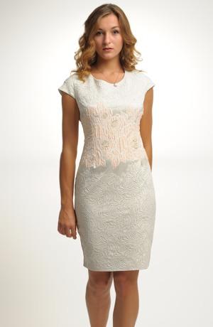 Dámské módní šaty na svatbu i do společnosti