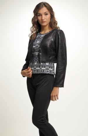 Mladistvé dámské společensko sportovní sako