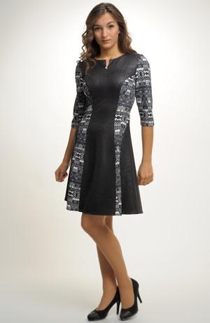 Dámské šaty se zajímavým zdobením