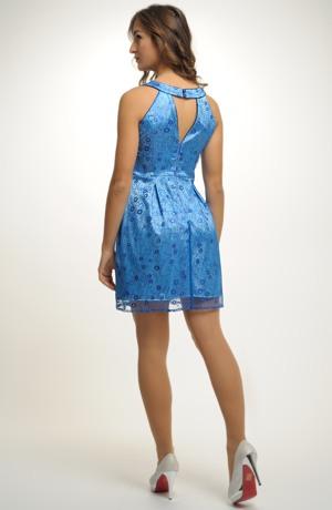 Šaty na ples dívčího střihu. Vel. 38, 40, 42.