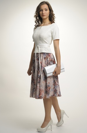 Letní dámská kolová sukně