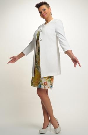 Velmi elegantní dámské paleto na šaty a ke kalhotám