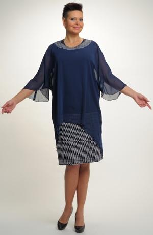 Společenský model šatů, velikost 52, 54, 56