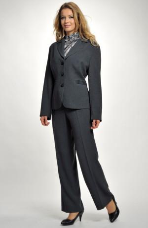 Elegantní dámské kalhoty - sleva