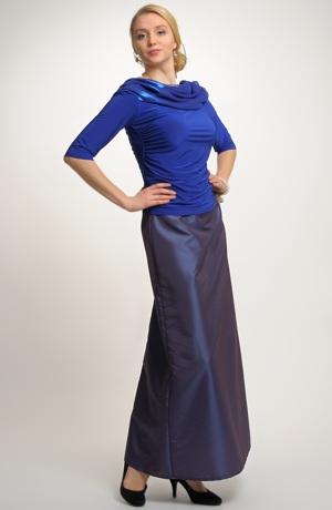 Dámská elegantní sukně z taftu - sleva