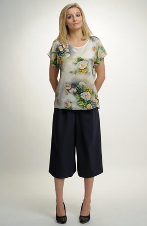 Kalhotová sukně na léto