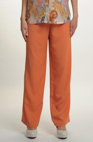 Světlé kalhoty v pastelových barvách - SLEVA