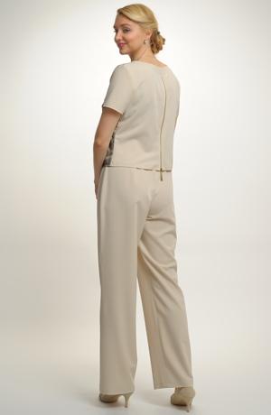 Kalhotový komplet - top a kalhoty