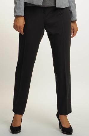 Kalhotový kostým v šedo černé barvě - dvojkombinace