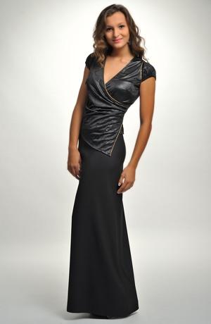 Černá dlouhá společenská sukně