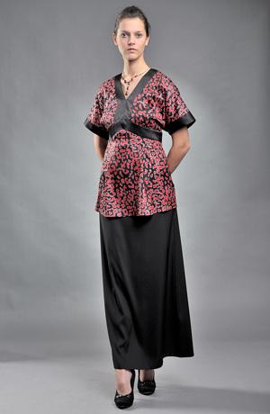 Dámská tunika ve stylu kimona -sleva