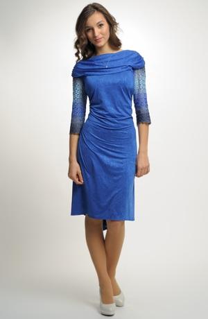 Dámské společenské šaty s krajkou