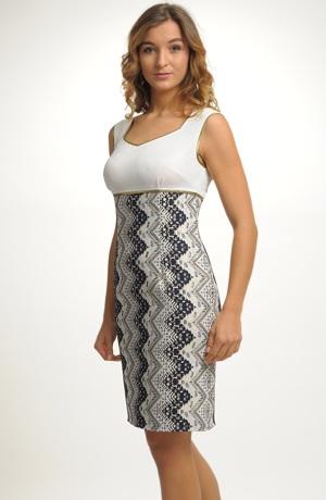 Nadčasové elegantní dámské koktejlové šaty
