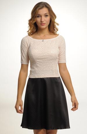 Společenská černá sukně
