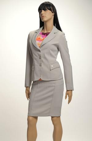 Elegantní dámský kostýmek - SLEVA