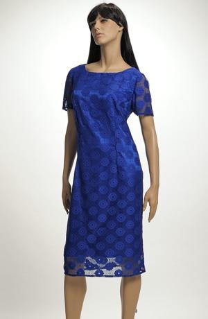 Dámské společenské šaty s krajkou vel. 44 a 46.