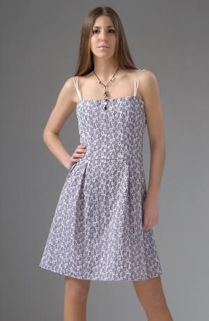 Společenské minišaty s řasenou sukní